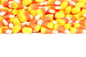 Isolated candy corn — Stock Photo