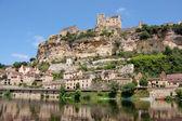 Beynac from Dordogne — Stock Photo
