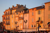 St Tropez in evening light — Stock Photo