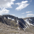 Cairngorm ridge of Cairn Lochan — Stock Photo