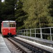 Stock Photo: Funicular train