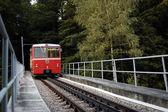 Funicular train — Stock Photo