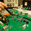 Stock Photo: Testing electronics