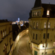 Sodermalm in Stockholm by night — Stock Photo
