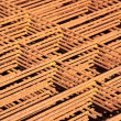 Stock Photo: Rebar pattern