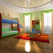 Interior of baby room — Stock Photo #2401745