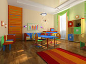 Interior of the baby office — Stock Photo