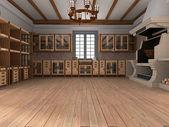 Interieur der küche — Stockfoto