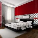 Interior to bedrooms — Stock Photo #2501741
