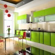 Stock Photo: Interior of kitchen