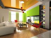 Modern interior — Stock Photo