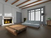 Interiér místnosti — Stock fotografie