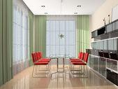 Modern interieur — Stockfoto