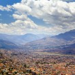 Cusco overlook — Stock Photo