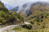 Road through Andes — Stock Photo