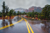 Road through Red Rocks — Stock Photo