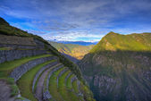 Terraces of Machu Picchu — Stock Photo