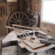 Blacksmith shop — Stock Photo