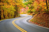 Winding road — Foto Stock