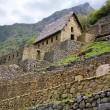 Machu Picchu-Torhaus — Stockfoto