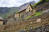 Machu Picchu Gate House — Stock Photo