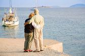 Feliz aposentadoria — Fotografia Stock