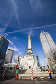 Monument Circle 1 — Stock Photo