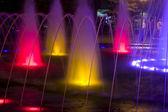 Colorful fountain — Stock Photo