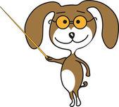 Dog teaching — Stock Photo