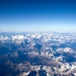 Stock Photo: Aerial view on Swiss alps