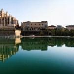 Palma de Mallorca cathedral panorama — Stock Photo
