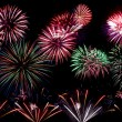 Colorful fireworks display — Stock Photo #2379009