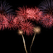 A colorful fireworks display — Stock Photo #2379422