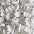 Styrofoam package padding texture — Photo
