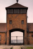 Death camp Auschwitz Birkenau — Stock Photo