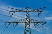 An electricity mast — Stock Photo
