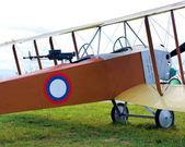 Old biplane — Stock Photo