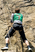 Horolezec — Stock fotografie