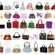 Royalty-Free Stock Vector Image: Bags for woman