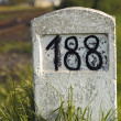 Milestone — Stock Photo
