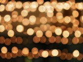 Blurred abstract christmas lights — Stock Photo