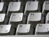 Keyboard detail — Stock Photo