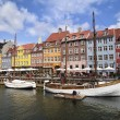 Stock Photo: Colorful copenhagen houses