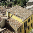 Cortona rooftops — Stock Photo