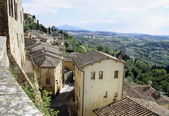 Rooftops in Cortona — Stock Photo