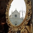 Santa Croce church - Stock Photo