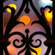Stock Photo: Wrought iron fence