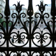 Wrought iron fence — Stock Photo #2480405