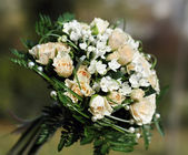 Matrimonio bouquet bianco 2 — Foto Stock