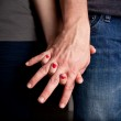 Letting Go of Love — Stock Photo